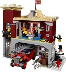 LEGO Creator - Vinterlandsbyens brandstation (10263)