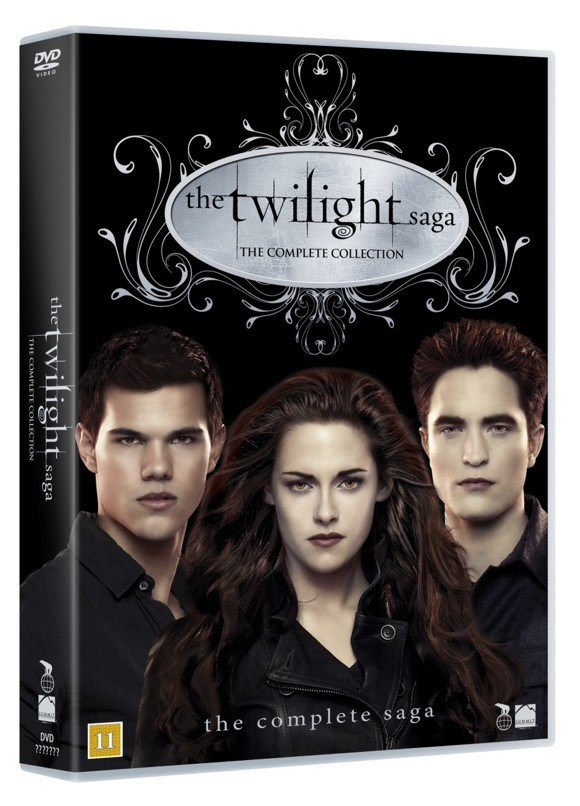 Twilight saga - The complete collection boks - DVD