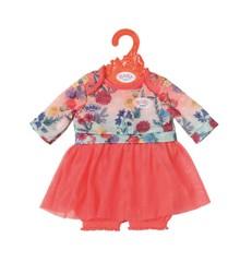 Baby Born - Trend Baby Kjole - Pink (826973B)