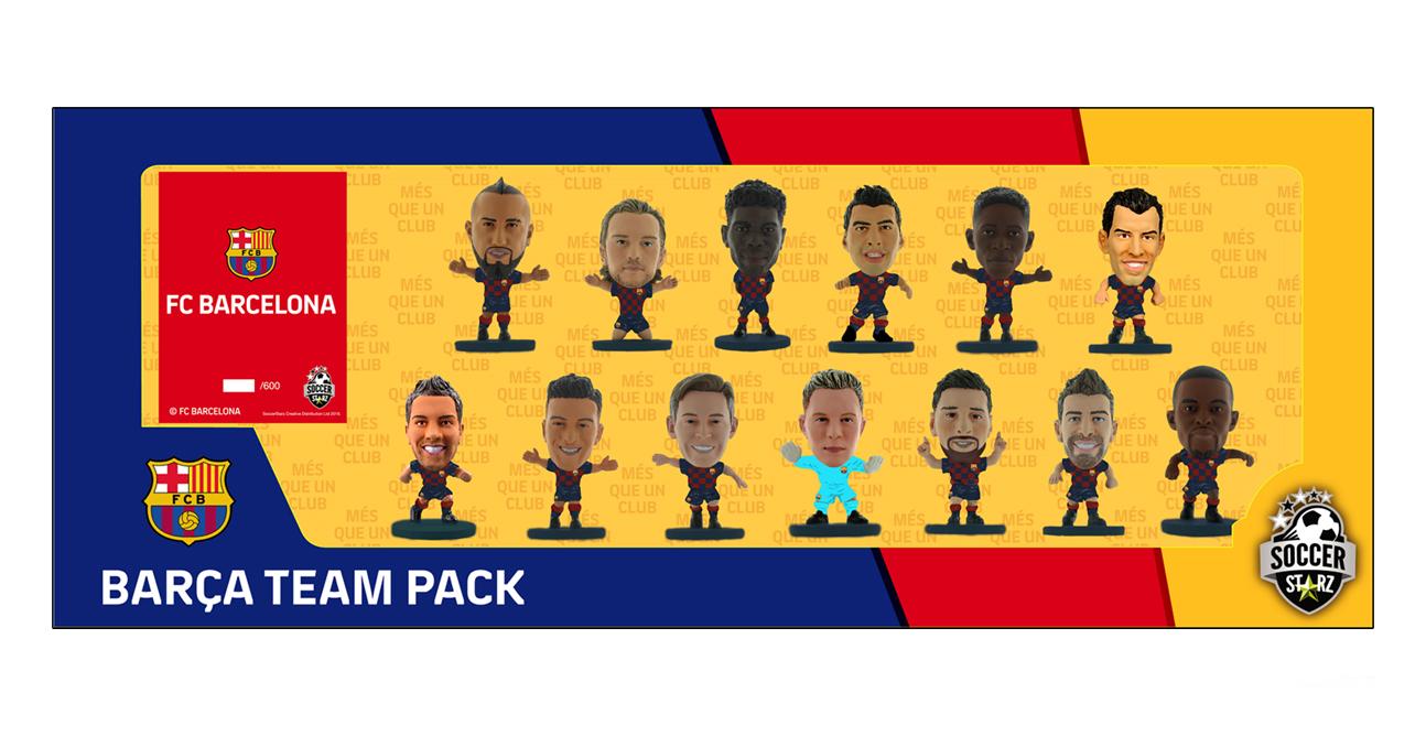 Soccerstarz - Barcelona Team Pack 13 players (Classic Kit)