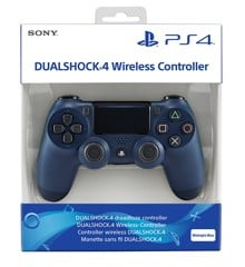 Sony PlayStation DualShock 4 Controller  Midnight Blue V2