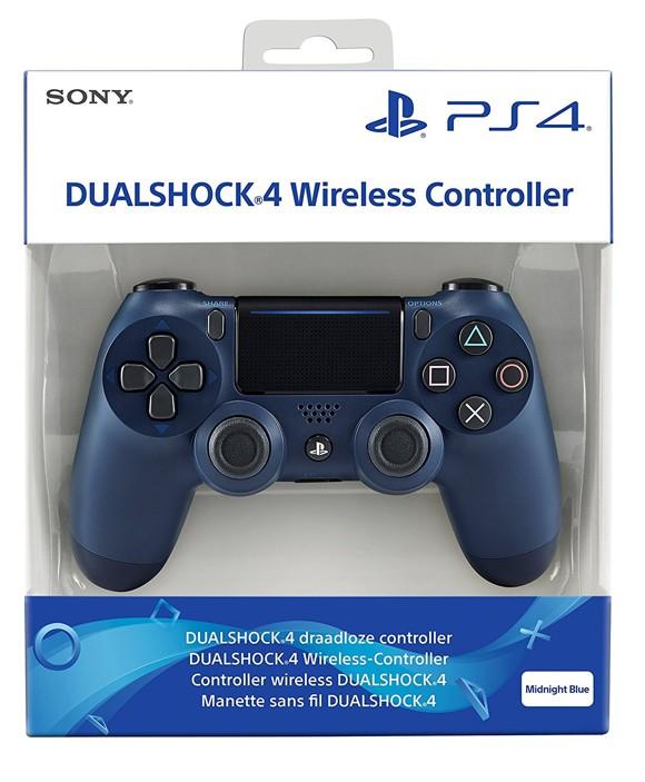 Sony PlayStation DualShock 4 Controller  Midnight Blue V2