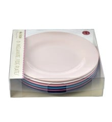 Rice - Melamine Round Side Plates 6 Pcs - Simply Yes