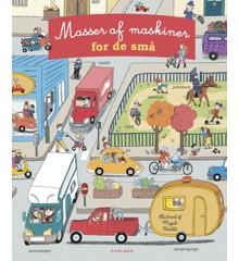 Børnebog - Masser af maskiner for de små