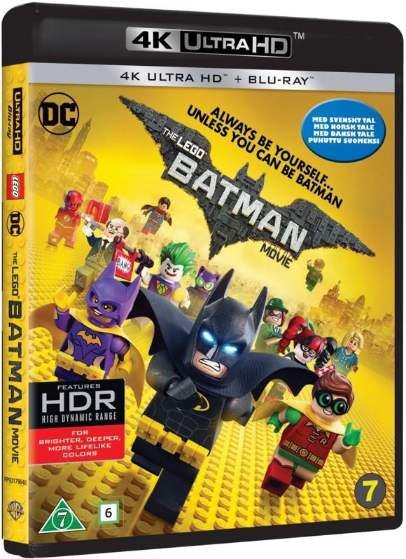 LEGO Batman Filmen / The LEGO Batman Movie (4K Blu-Ray)