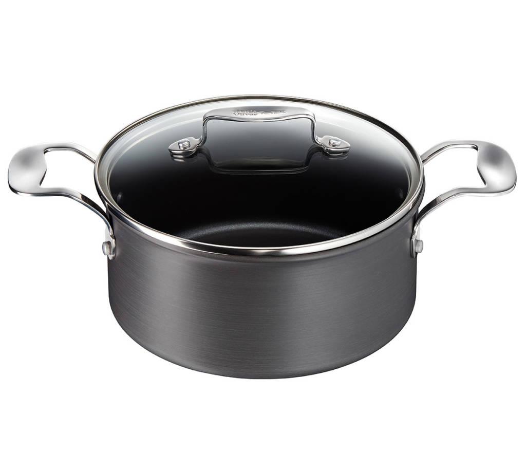 Tefal - Jamie Oliver Everyday Hard Anodised Pot - 24 cm - 5 liter (H9004644)