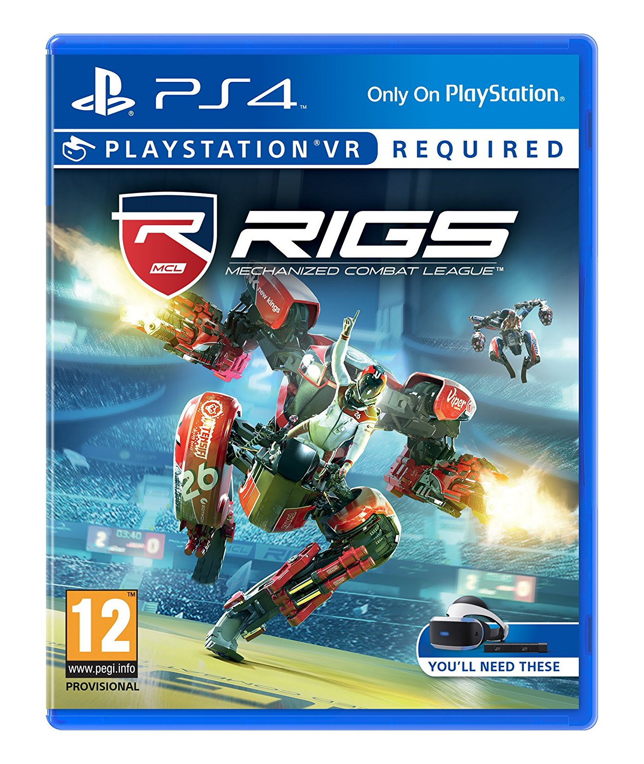 RIGS: Mechanized Combat League (VR) (Nordic)