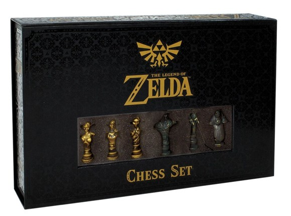 The Legend Of Zelda Collector's Edition Chess Game (Engelsk)