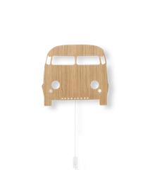 Ferm Living - Car Lampe - Olieret Egefinér