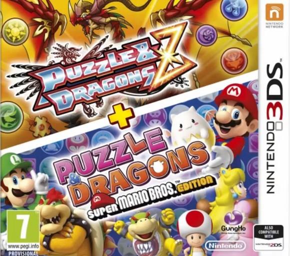 Puzzle & Dragons Z and Super Mario Bros. Edition