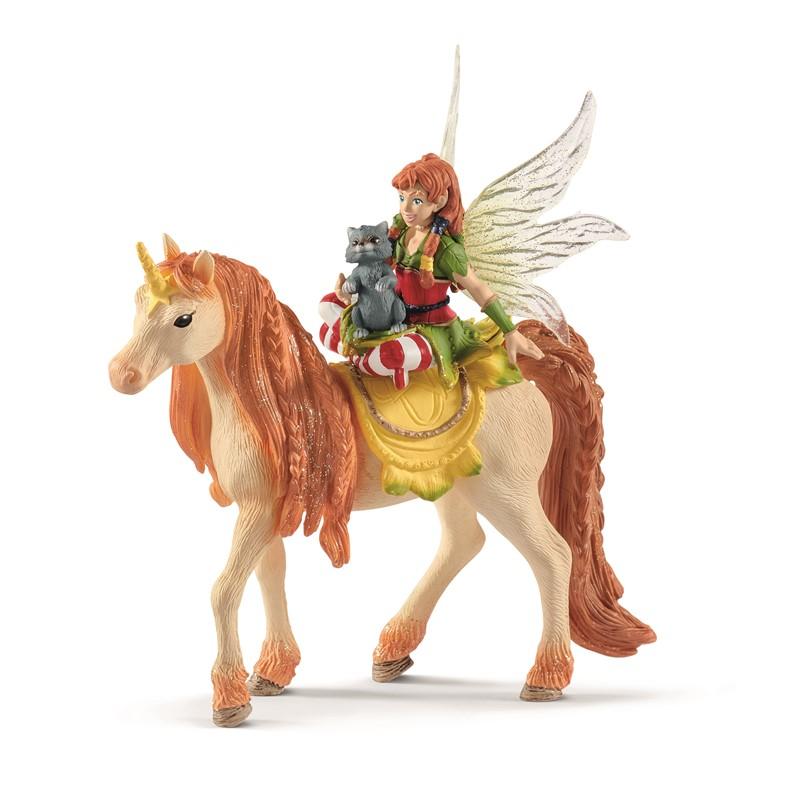 Schleich - Bayala - Fairy Marween with glitter unicorn (70567)