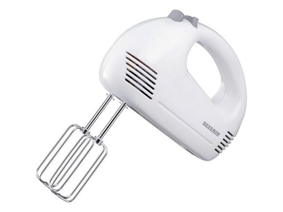 Severin - Håndmikser 200 watt - Hvid/Grå