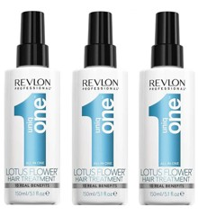 Uniq One - 3x All in One Flower  Hair Treatment 150 ml
