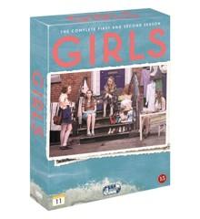 Girls: Box - Sæson 1-2 (4 disc) - DVD