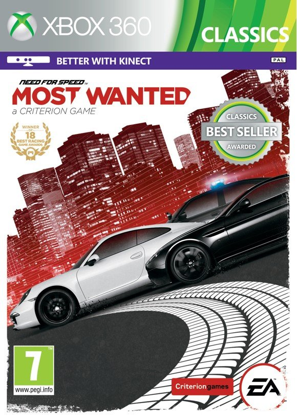Need for Speed Most Wanted (2012) (Classics)