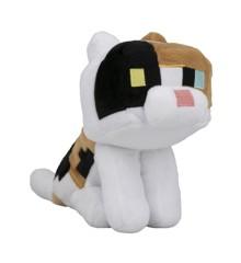 """Minecraft Happy Explorer 7"""" Calico Cat Plush"""