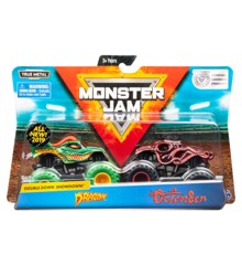 Monster Jam 1:64 2 Pakke - Dragon & Octon8er