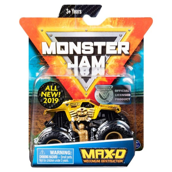 Monster Jam - 1:64 Single Pack - MAX-D (20105561)
