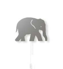 ​Ferm Living - Elephant Lamp - Grey (100050111)