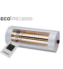 Solamagic - 2000 ECO+ PRO ARC Heater with remote - Titanium