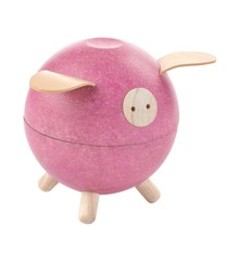 PlanToys - Piggy bank, Pink (8612)