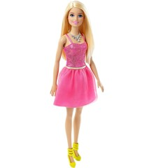 Barbie - Dukke m/Glitz Pink Kjole
