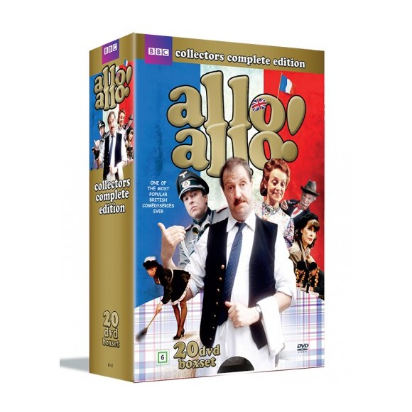 Allo Allo: Komplet boks - Sæson 1-9 - DVD