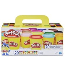 Play-Doh - Super Color Pack m. 20 Bøtter