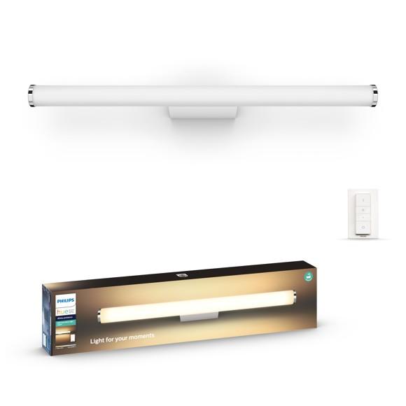 Philips Hue - Adore wall lamp white 1x20W  - Bathroom - White Ambiance