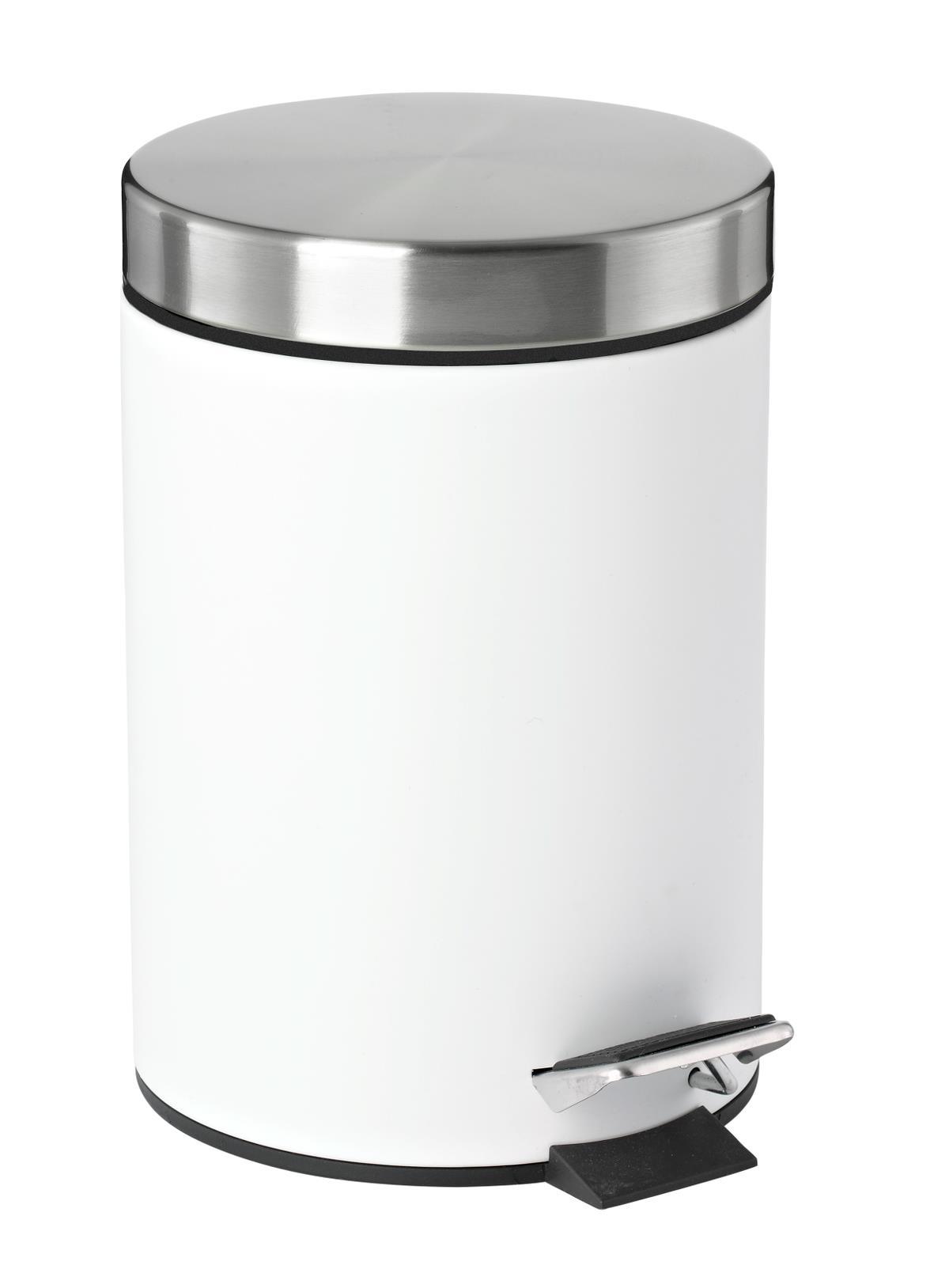 Zone - Confetti Pedal Bin - White (330532)