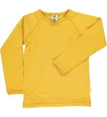 Småfolk - Økologisk Basis Langærmet T-Shirt - Ochre