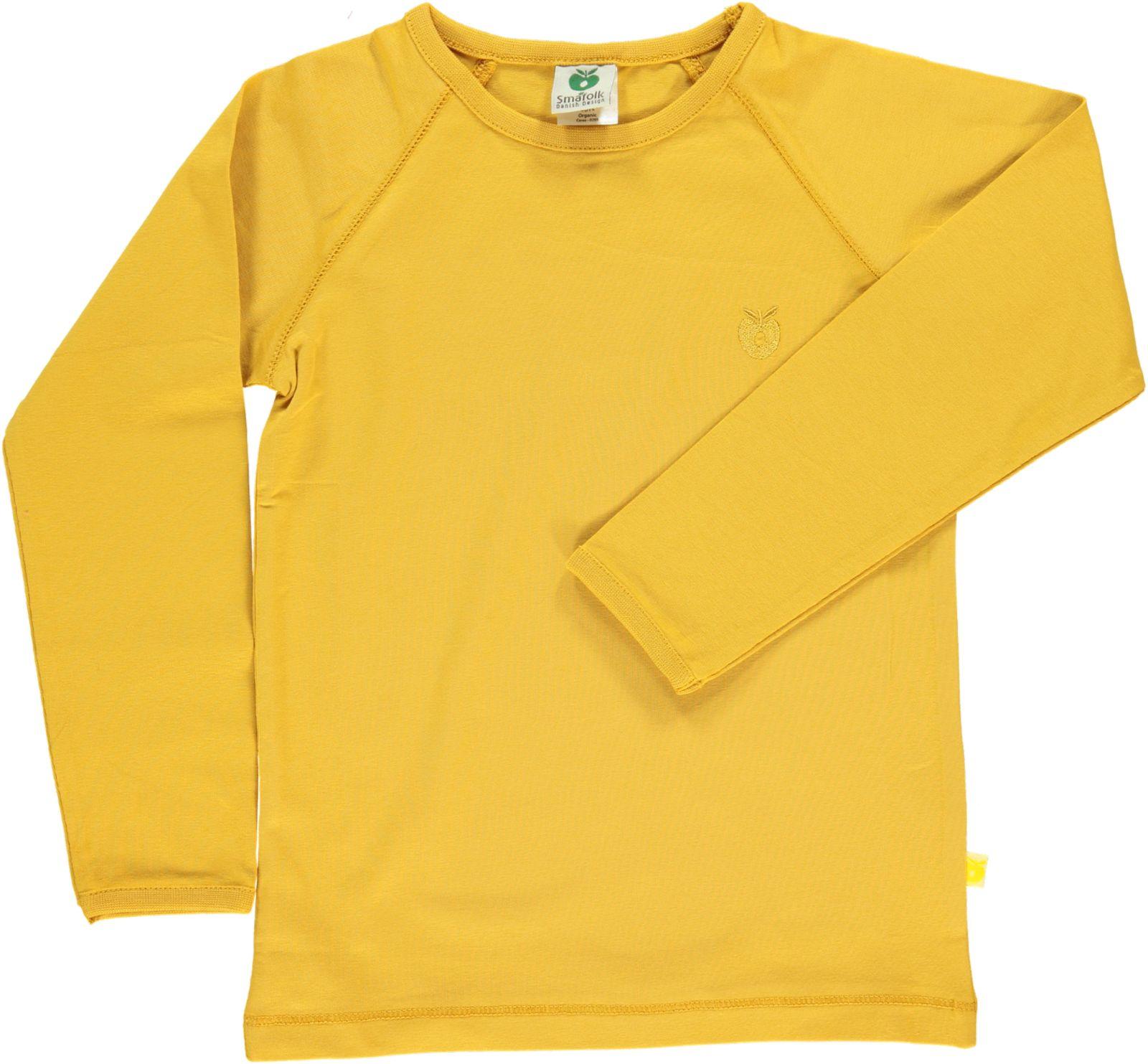 Småfolk - Organic Basic Longsleved T-Shirt - Ochre