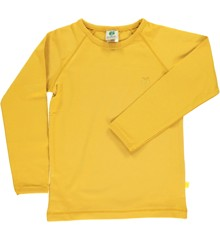 Småfolk - Organic Basic Longsleved T-Shirt - Ochre
