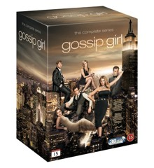Gossip Girl - Complete Box Set - Sæson 1 - 6 - DVD