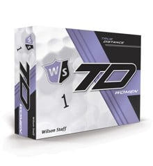 WILSON - STAFF TRUE DISTANCE GOLF BALLS - WOMEN'S WHITE