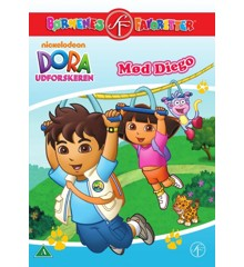 Dora The Explorer - Meet Diego - DVD