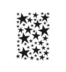 Ferm Living - Mini Stars Wallstickers - Black (2082-01)