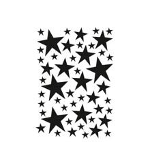 Ferm Living - Mini Stars Wallstickers - Black (2082-01)