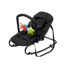 Babytrold - Bouncing Chair w. Toys - Black