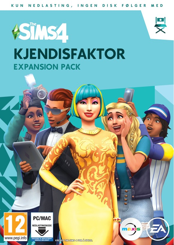 The Sims 4: Get Famous (NO) (PC/MAC)