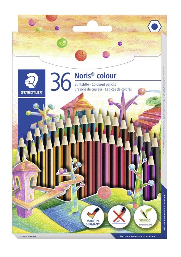 Staedtler - Noris colour miljøfarveblyanter, 24 stk.