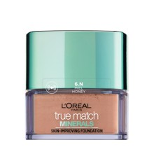 L'Oréal - True Match Minerals Powder Foundation SPF 19 - 6N Miel