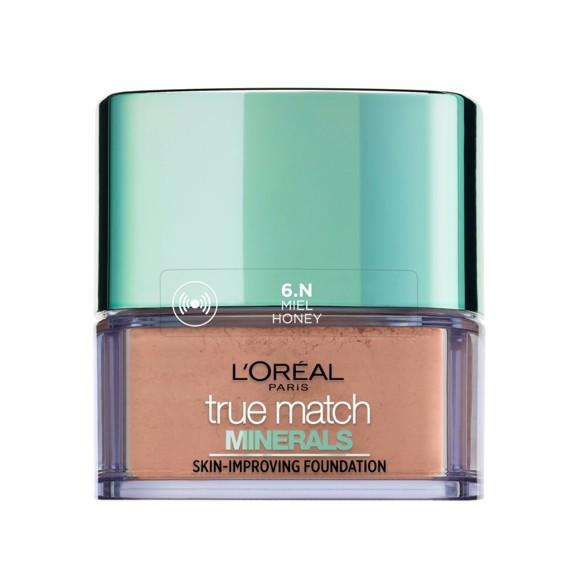 L'Oréal - True Match Minerals Powder Foundation SPF 19 - 6N Miel