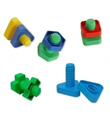 Edushape - Nuts and Bolts, 48 Piece (E929048)