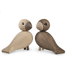 Kay Bojesen - Lovebirds oak/smoked oak 1 Pair (39204)
