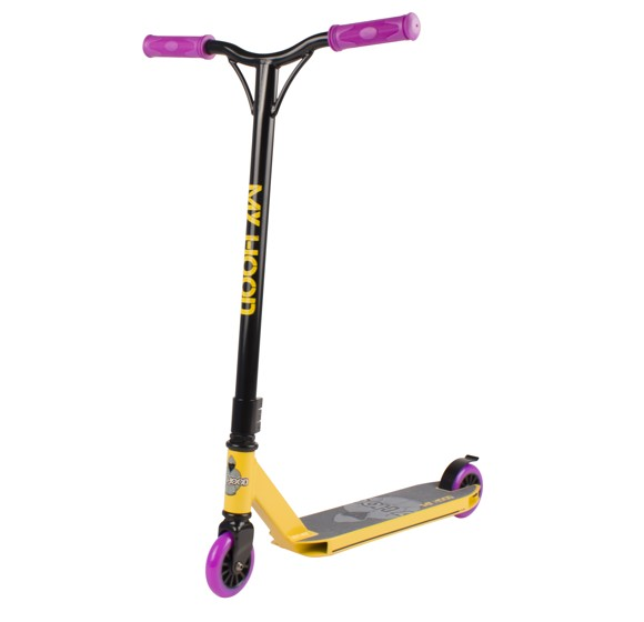 My Hood - Trick Scooter 7.0 - Black/Yellow/Purple