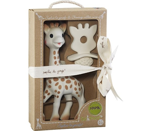 Vulli - Sophie la girafe and Chewing Rubber So'Pure (616624)