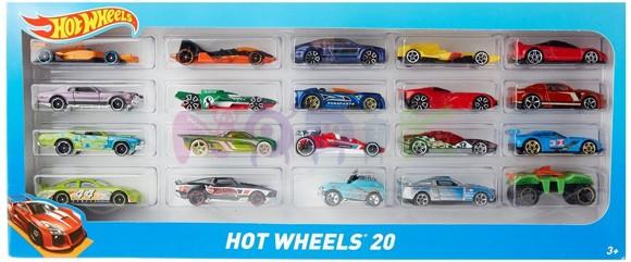 Hot Wheels -  20 Car Gift Pack