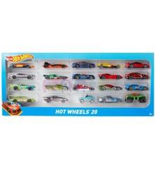 Hot Wheels -  Gaveæske med 20 biler(H7045)