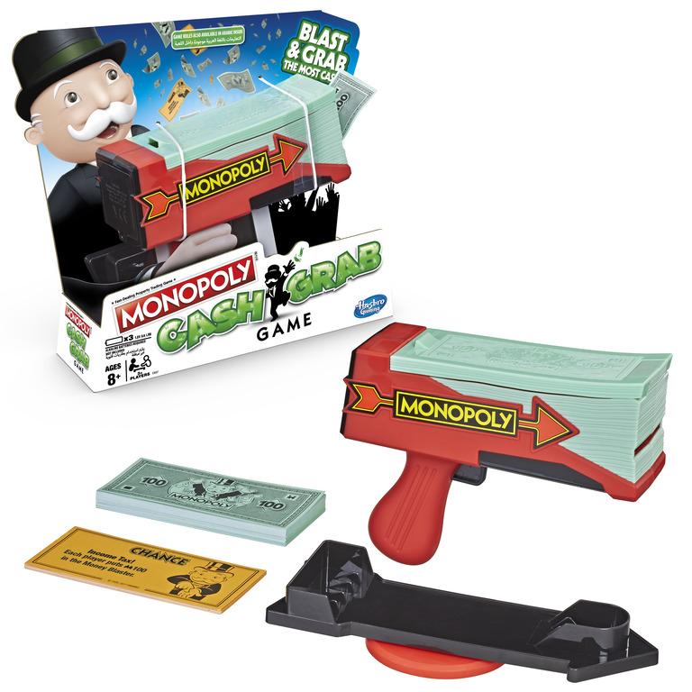 Hasbro Gaming - Monopoly - Cash Grab Boardgame (E3037189)
